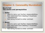 chapter 4 commodity murabahah