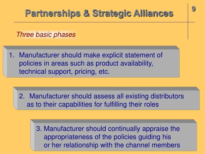 Partnerships & Strategic Alliances
