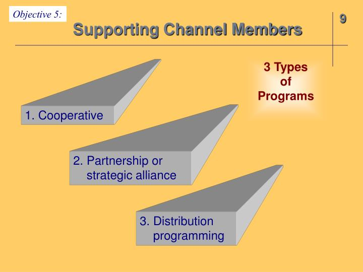 Supporting Channel Members
