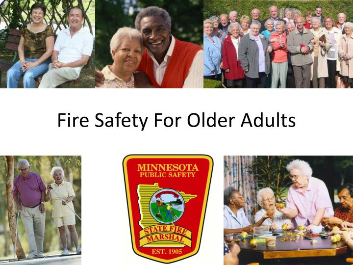 fire safety for older adults n.