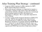 atlas training plan strategy continued1