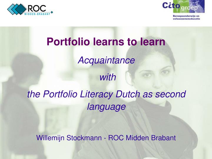 Portfolio learns to learn