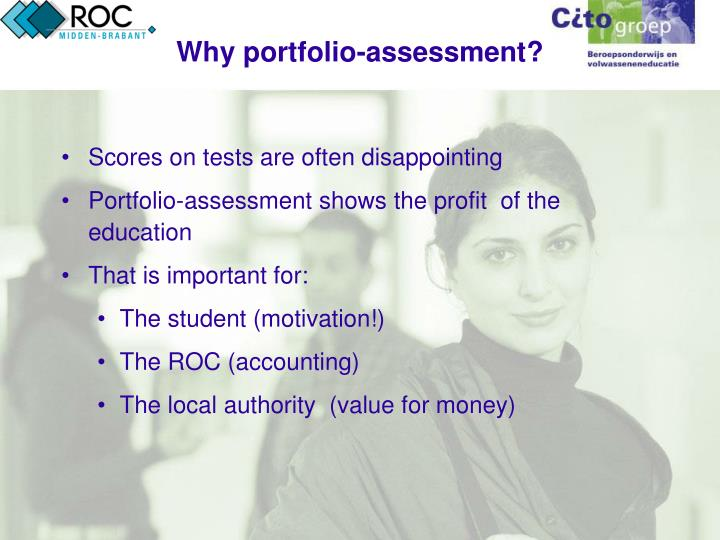 Why portfolio-assessment?