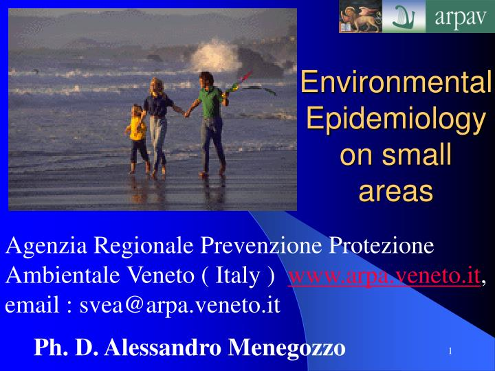 environmental epidemiology on small areas n.