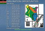 exploration opportunities