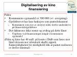 digitalisering av kino finansiering1