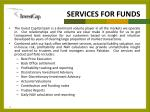 services for funds