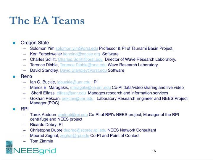 The EA Teams