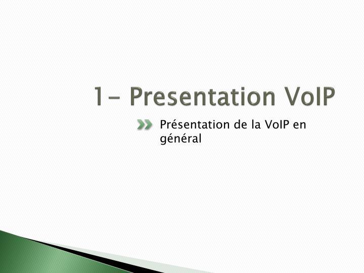 1 presentation voip