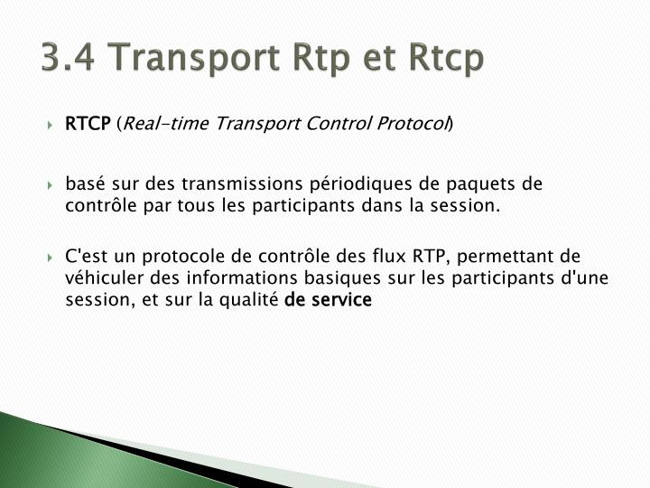3.4 Transport