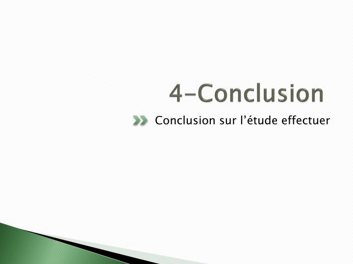 4-Conclusion