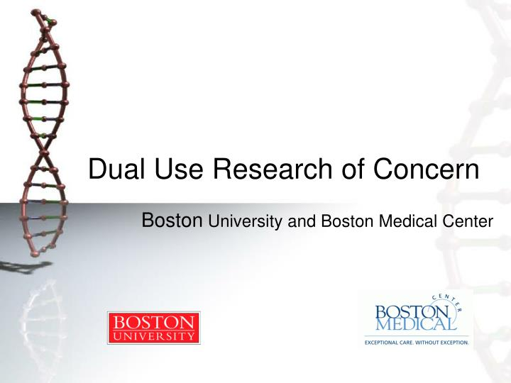 dual use research of concern n.
