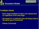 succession models