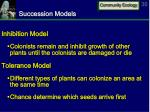 succession models1