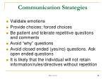 communication strategies2