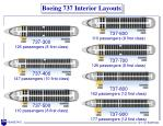 boeing 737 interior layouts