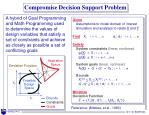 compromise decision support problem