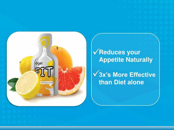 Reduces your Appetite Naturally