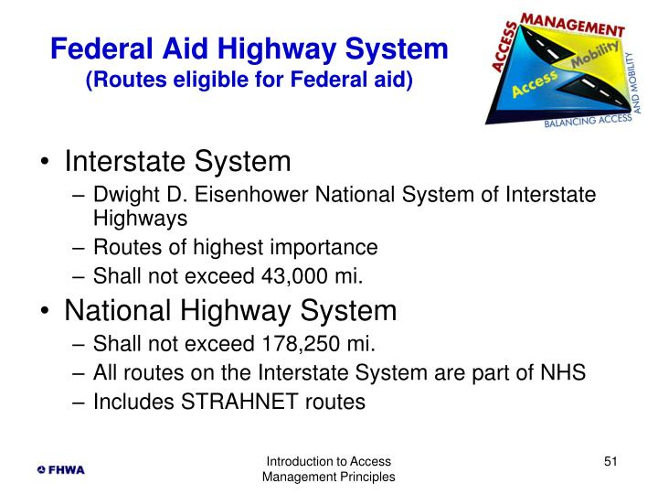 Federal Aid Highway System