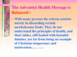 the adventist health message is balanced1