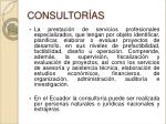 consultor as