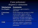 cuore polmonare diagnosi e valutazione1