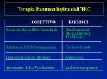 terapia farmacologica dell irc