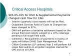 critical access hospitals1