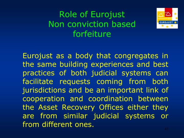 Role of Eurojust