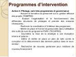 programmes d intervention2