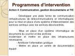 programmes d intervention4