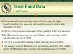 trust fund data continued