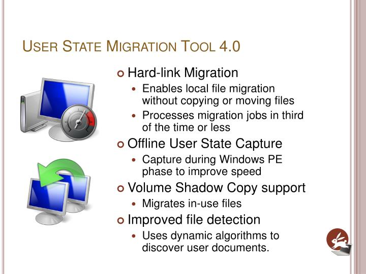 User State Migration Tool 4.0