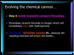 evolving the chemical cannon3