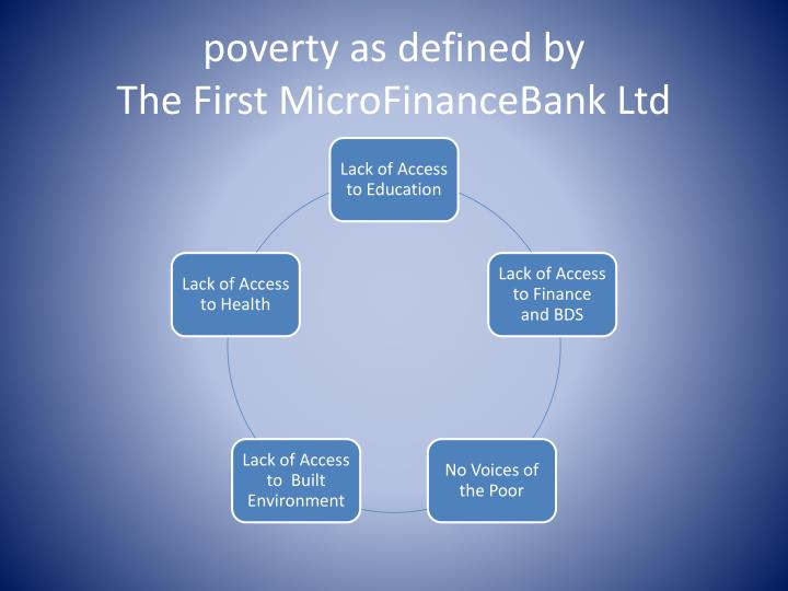 poverty as defined by