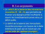 b les arguments25