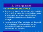b les arguments28