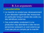 b les arguments3