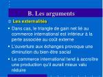b les arguments6