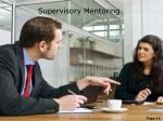supervisory mentoring