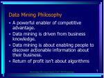 data mining philosophy