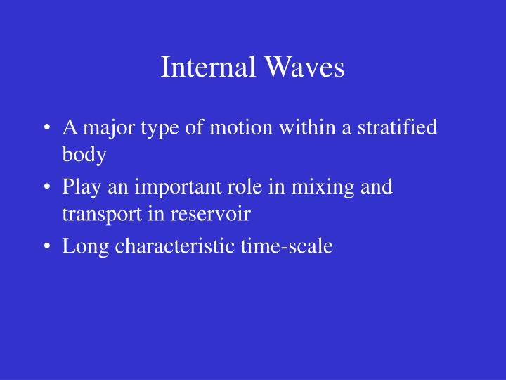 Internal Waves