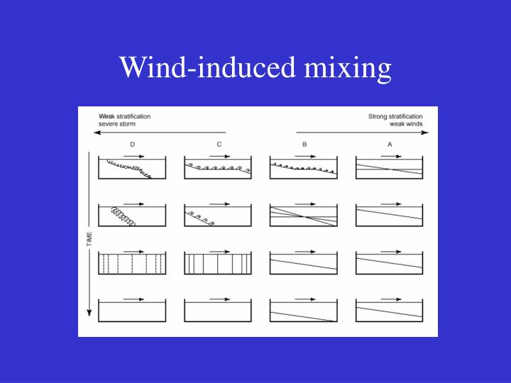 Wind-induced mixing