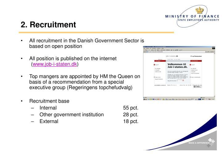 2. Recruitment
