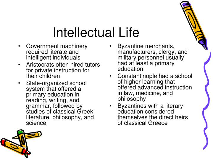 Intellectual Life