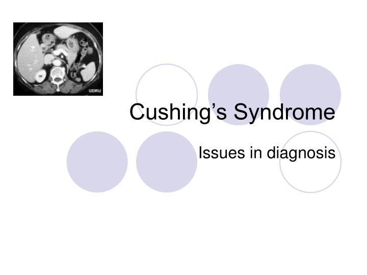 cushing s syndrome n.