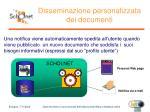 disseminazione personalizzata dei documenti