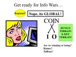 get ready for info wars