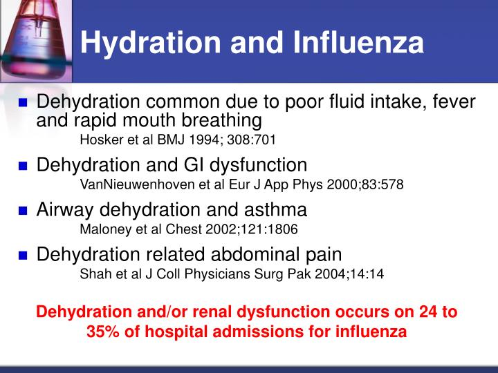 Hydration and Influenza