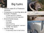 big hydro
